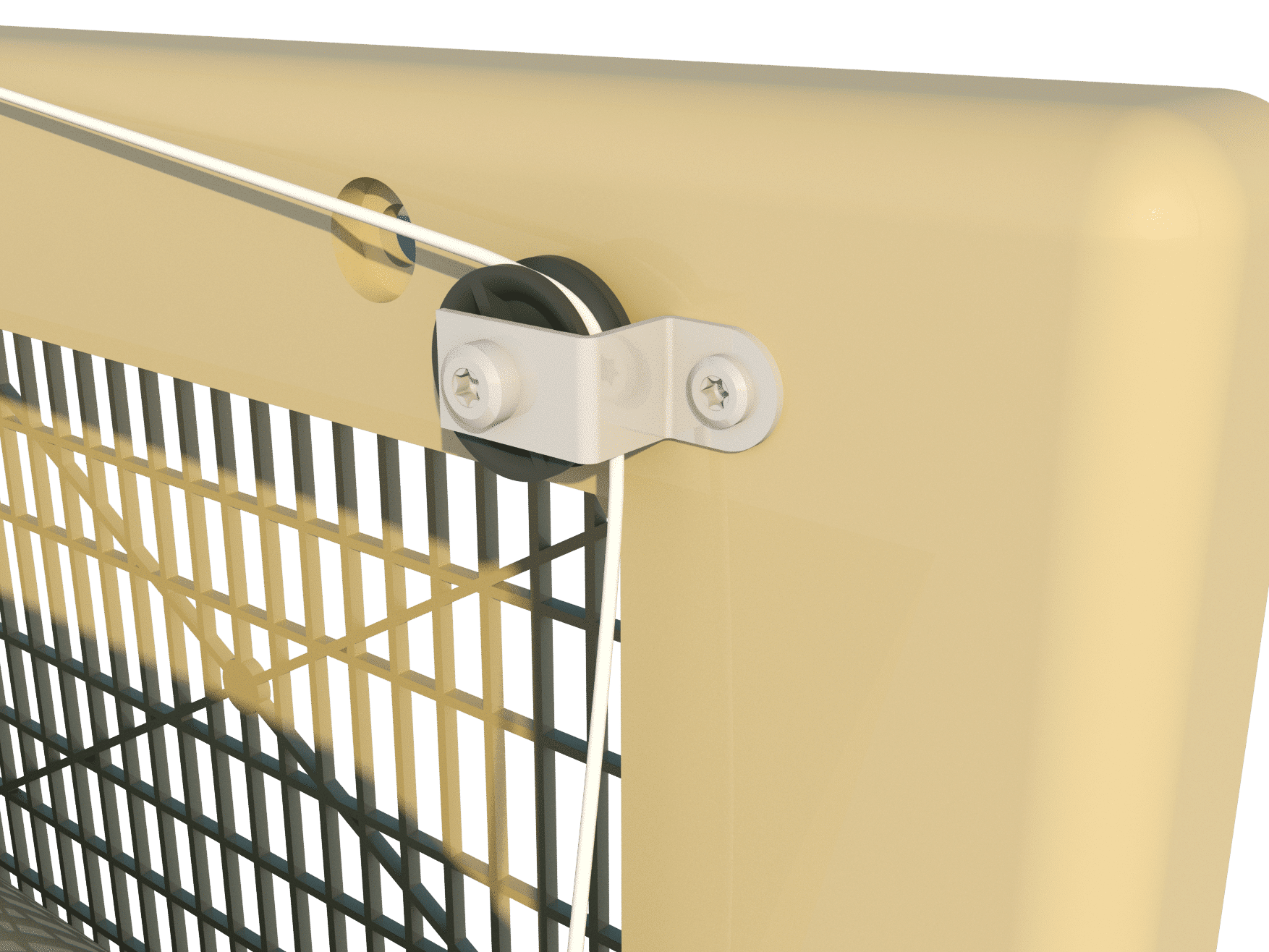 TPI Air Inlet 2500-PVF - Pulley Unit