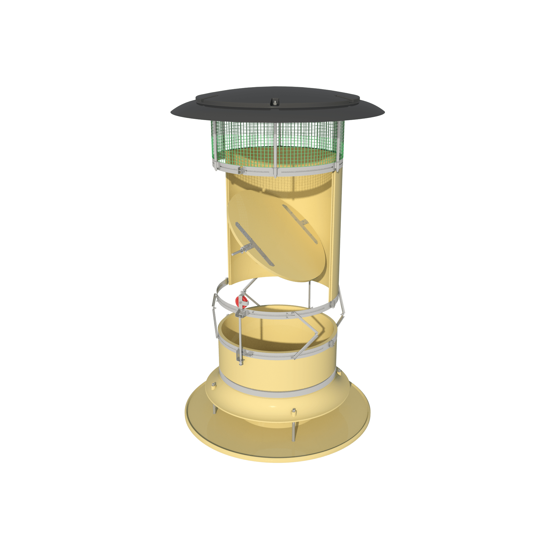 ARC-F (Automatic Recirculation Chimney-Fixed)